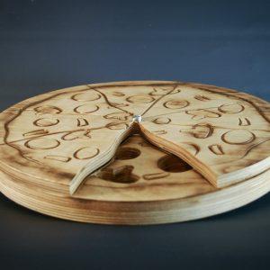 Interaktyvus medinis žaislas šunims Pizza Spin