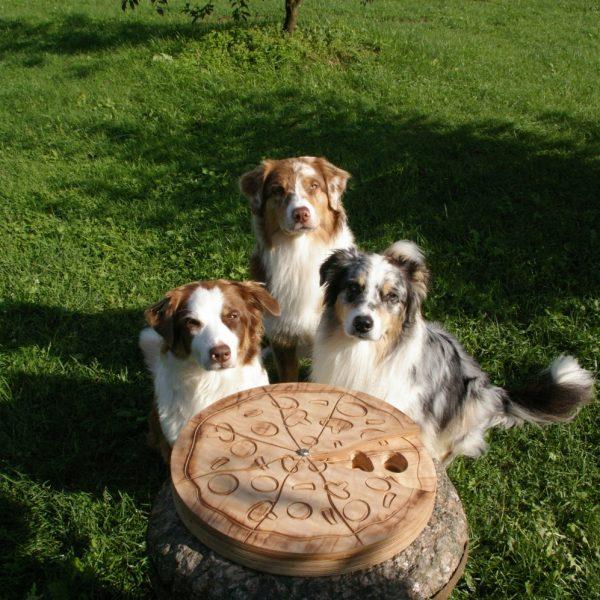 Interaktyvus žaislas šunims Pizza Spin ir Australai