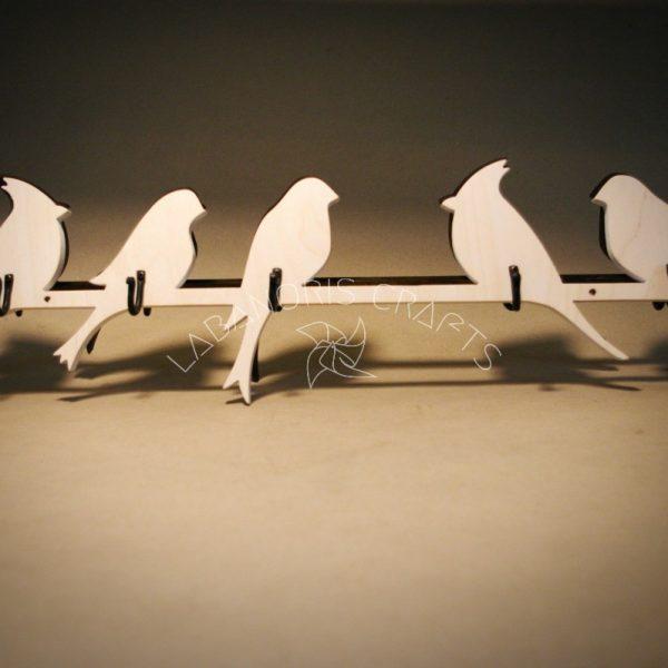 Drabužių kabykla Paukščiai