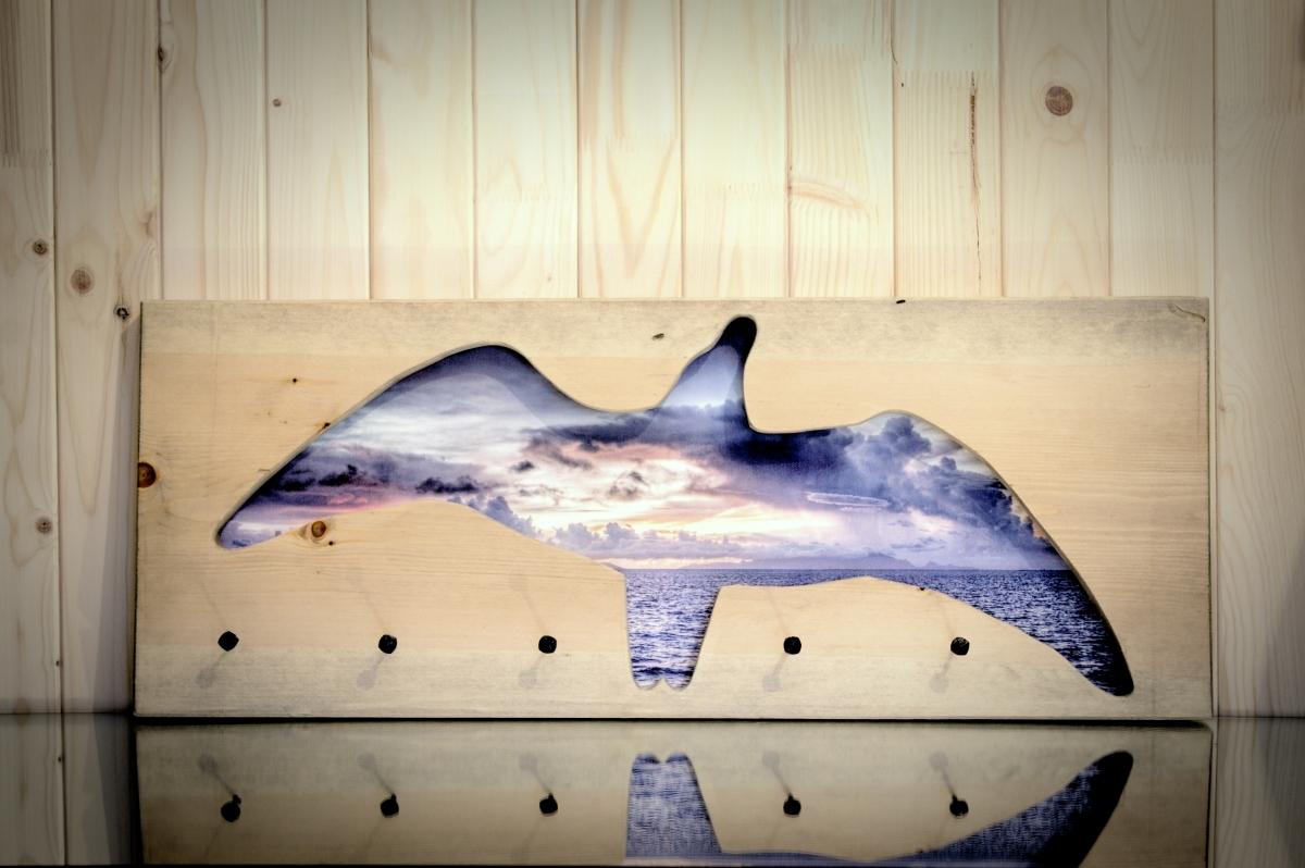 Kabykla ant sienos – fotopaveikslas Žuvėdros skrydis