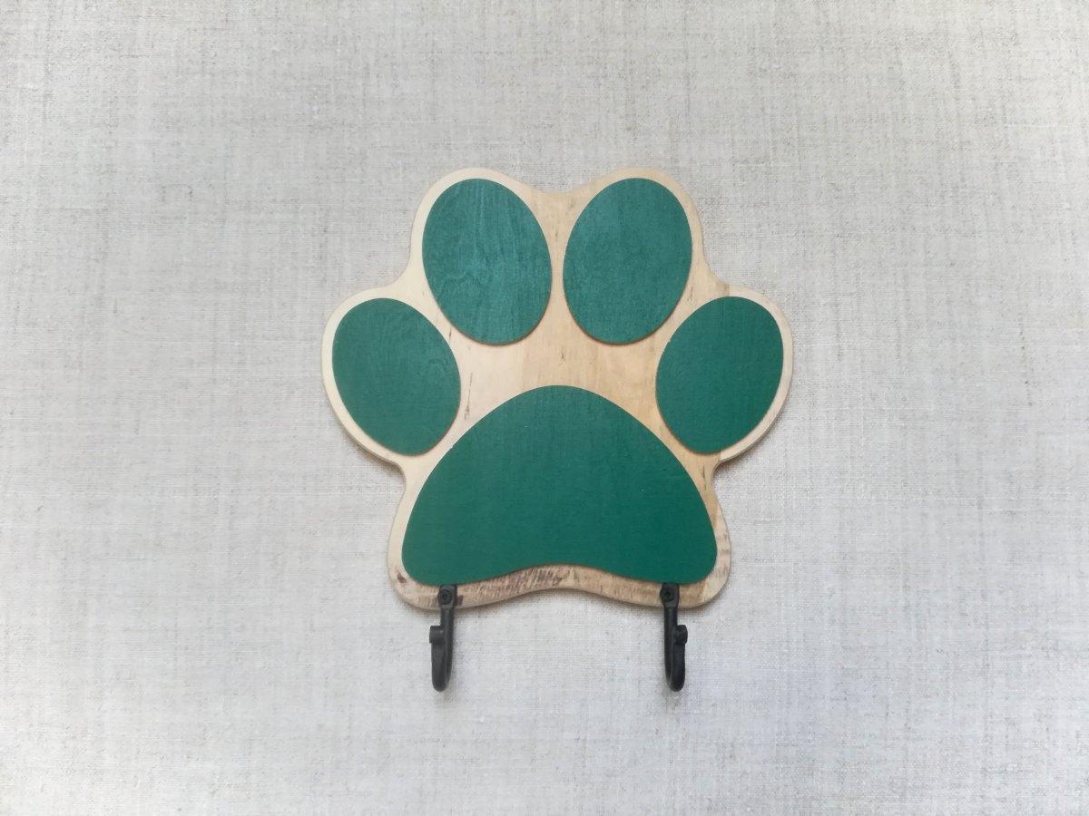 Kabykla šuns pavadėliui su dviem kabliukais Pėdsakas