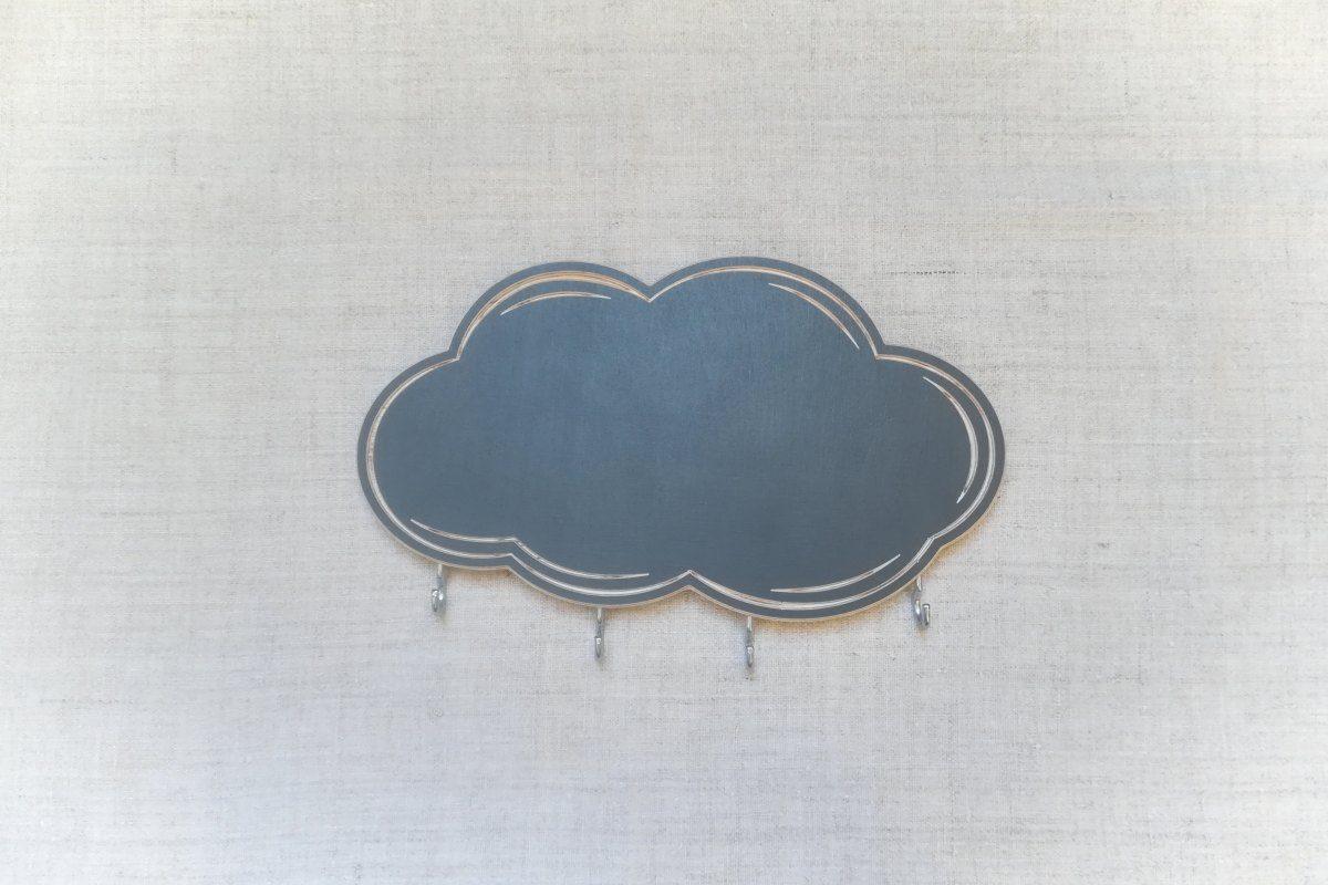 Raktų kabykla su rašymo lenta Debesėlis