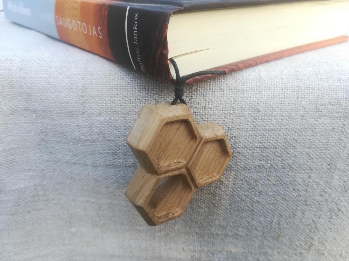 Medinis knygos skirtukas Korys