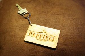 Blefjell Lodge raktų pakabukas